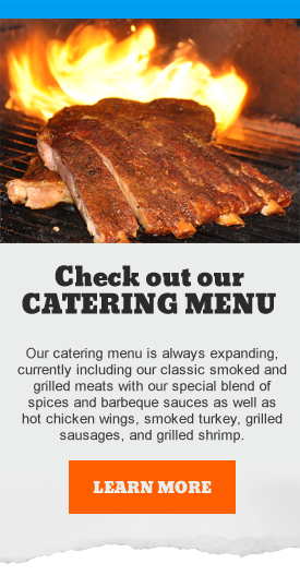 Boogie Barbeque Catering Menu